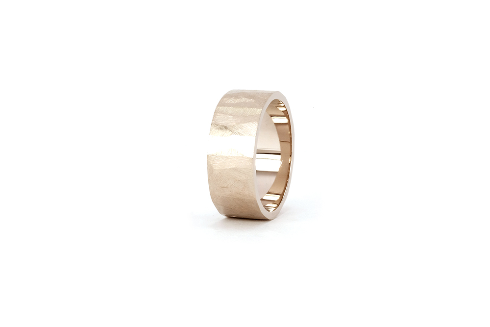 Alliance Ecailles Blanche, or blanc 18k 2