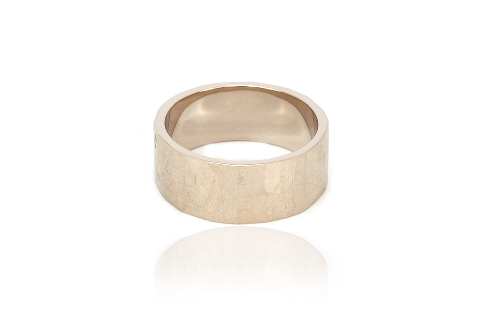 Alliance Ecailles Blanche, or blanc 18k 3