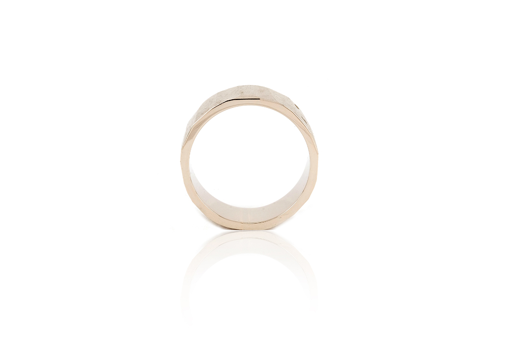 Alliance Ecailles Blanche, or blanc 18k 4